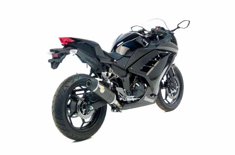 Silenciador LV ONE de LeoVince para Kawasaki Ninja 300 2013