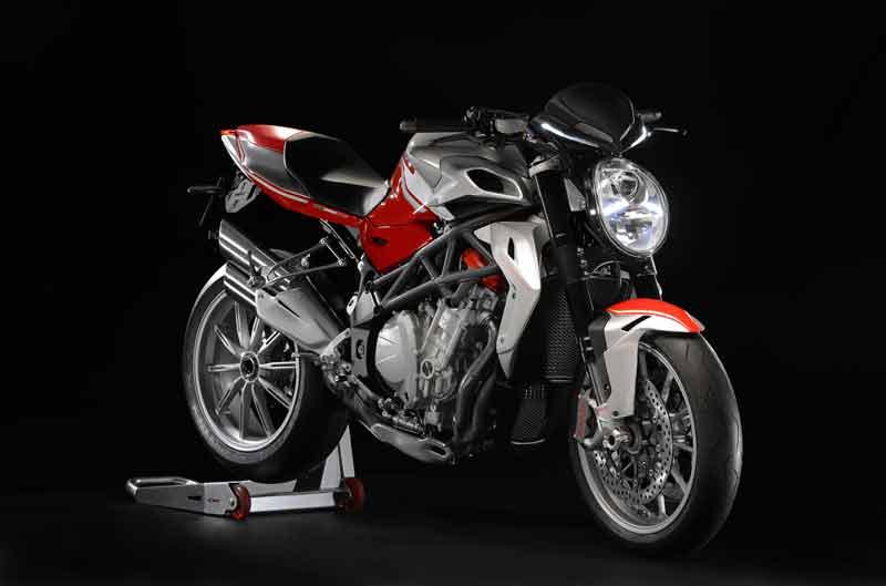 ABS para toda la gama MV Agusta Brutale 2013 cuatro cilindros
