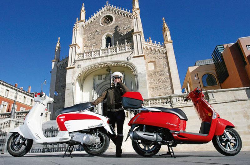 Comparativa scooter. Kymco Like vs Lambretta LN 125
