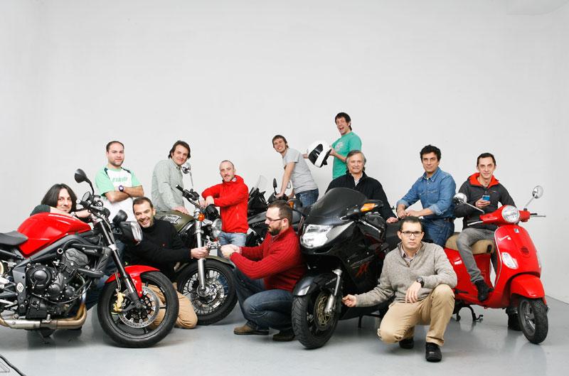 Las motos de la redacción