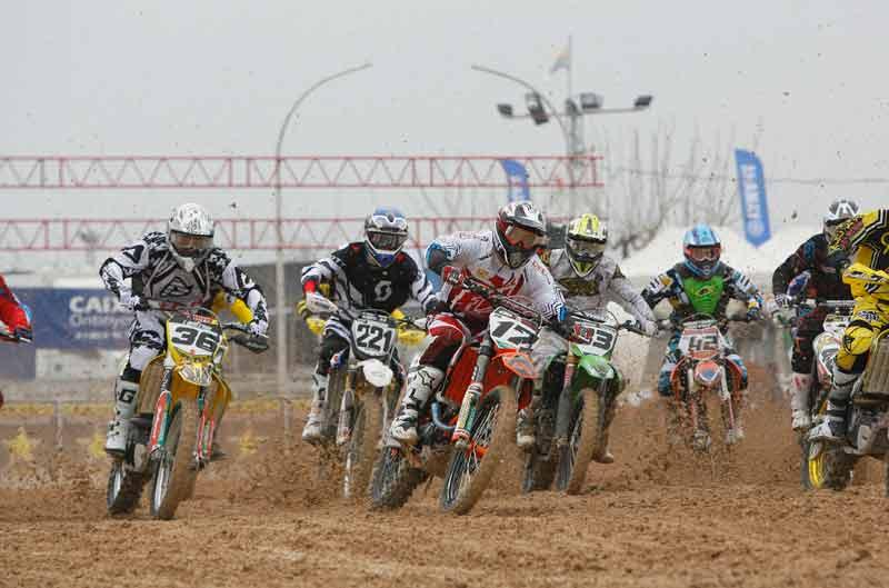 José Butrón gana la primera prueba del Campeonato de España de Motocross