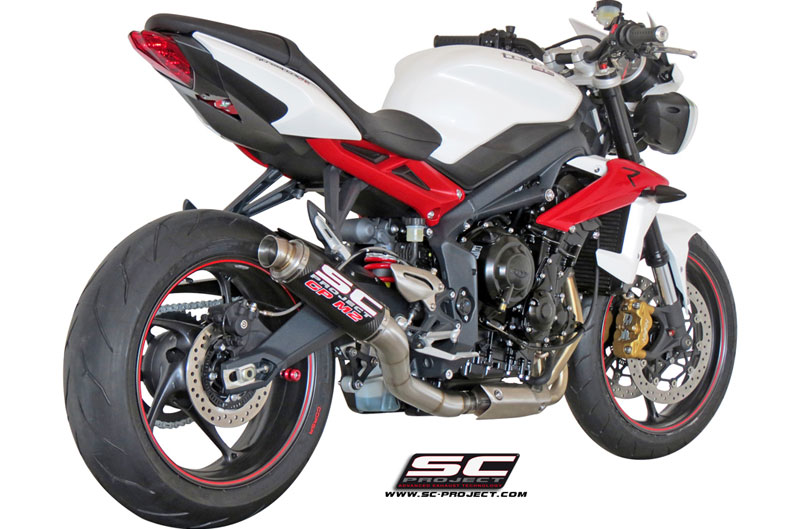 Escape SC-Project para Triumph Street Triple 675