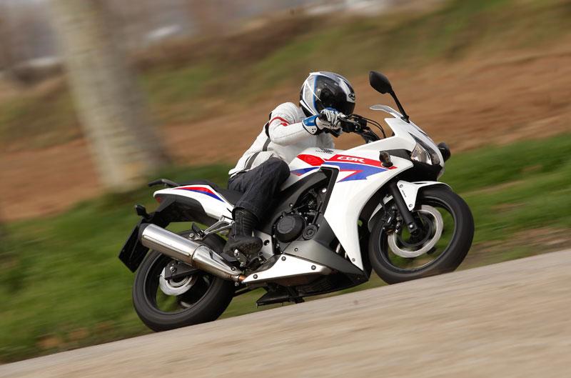 Honda CBR500R. Prueba