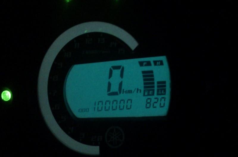 Objetivo 100.000 km: Yamaha Fazer 600