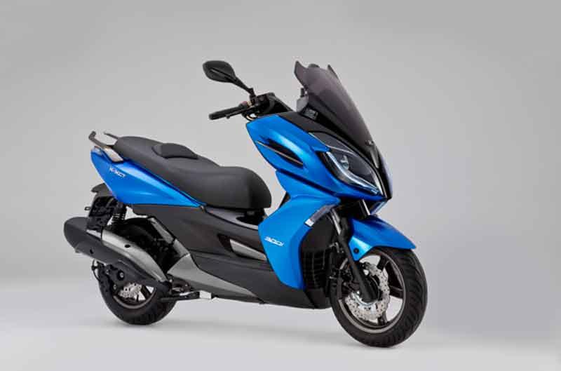 Kymco lanza el nuevo scooter deportivo K-XCT
