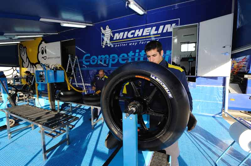 Michelin, proveedor oficial de neumáticos de Moto2 hasta 2015