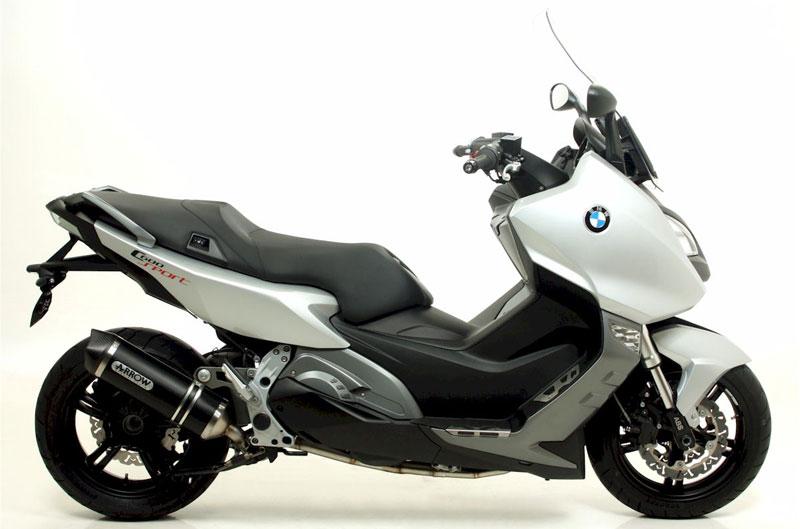 Silenciosos Arrow para el BMW C600