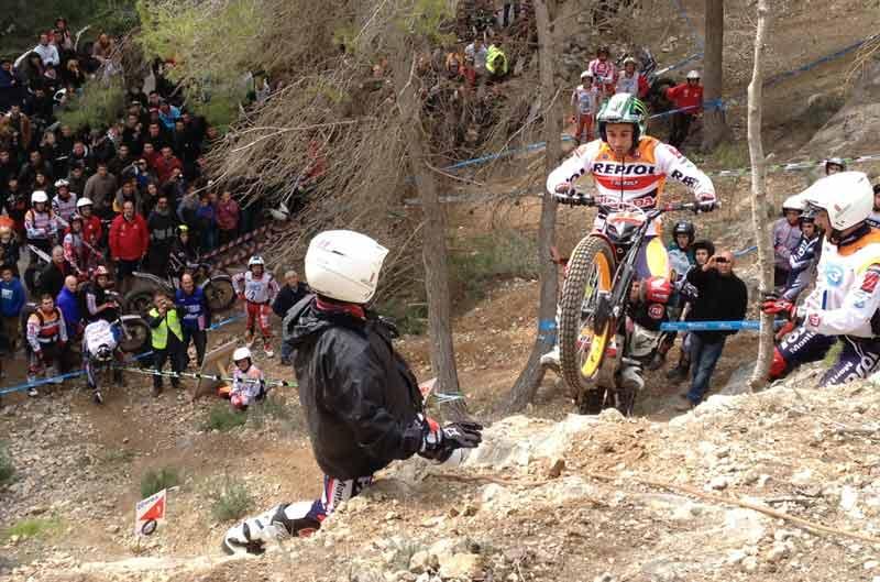 Toni Bou se impone en la primera prueba del Campeonato de España de Trial