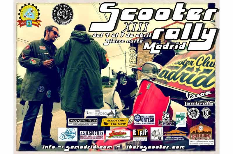 Rally 2013 en el Scooter Club Madrid