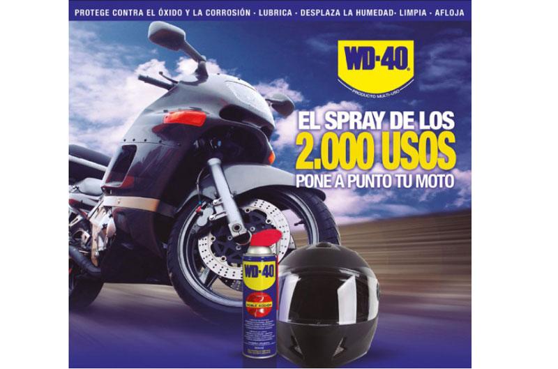 BMP regala 2.000 sprays multiusos para moto WD-40