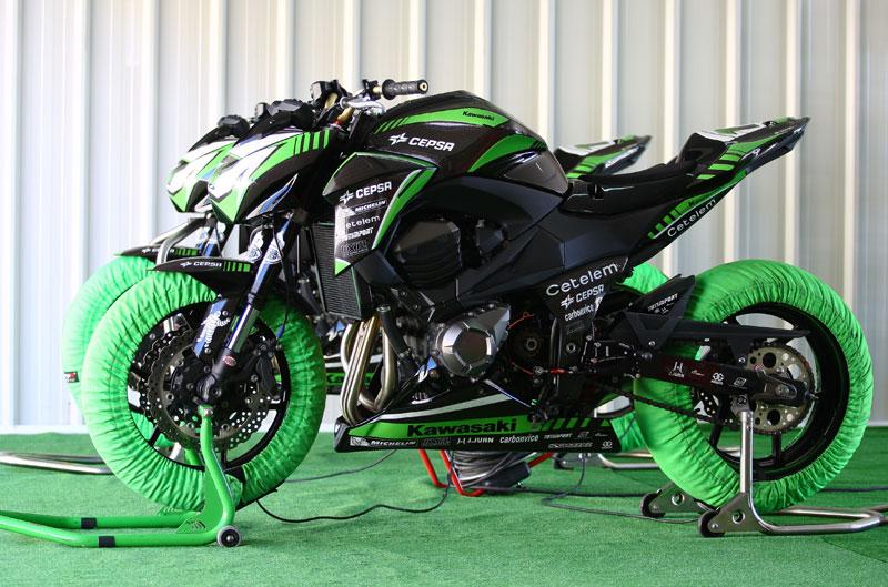 Presentación Kawasaki Z Cup 2013