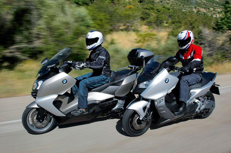 ¿Quieres probar un scooter BMW?