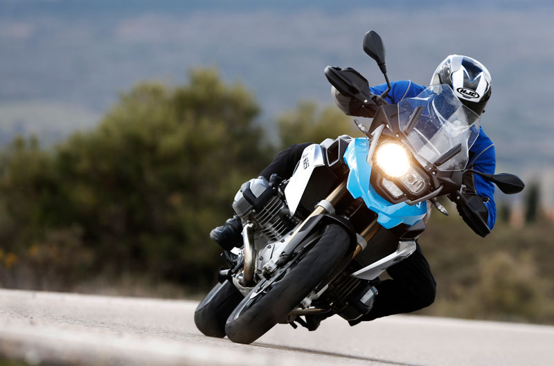 BMW R 1200 GS, entrenamientos MotoGP en Texas y guía MotoMadrid