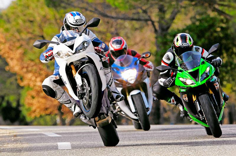 Comparativa Kawasaki, Suzuki y Triumph