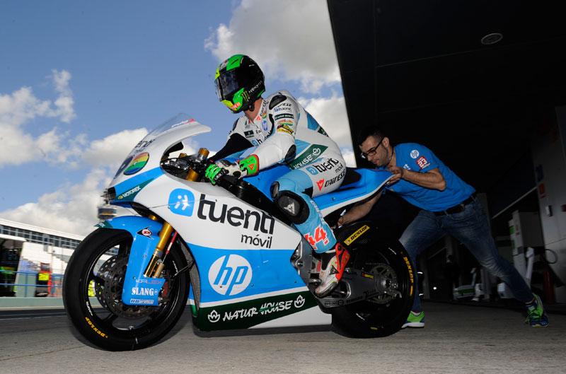 Pol Espargaró y Luis Salom, los más rápidos en los IRTA de Jerez