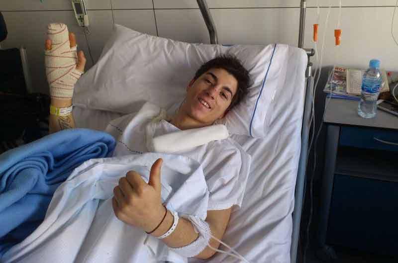 Maverick Viñales, operado con éxito