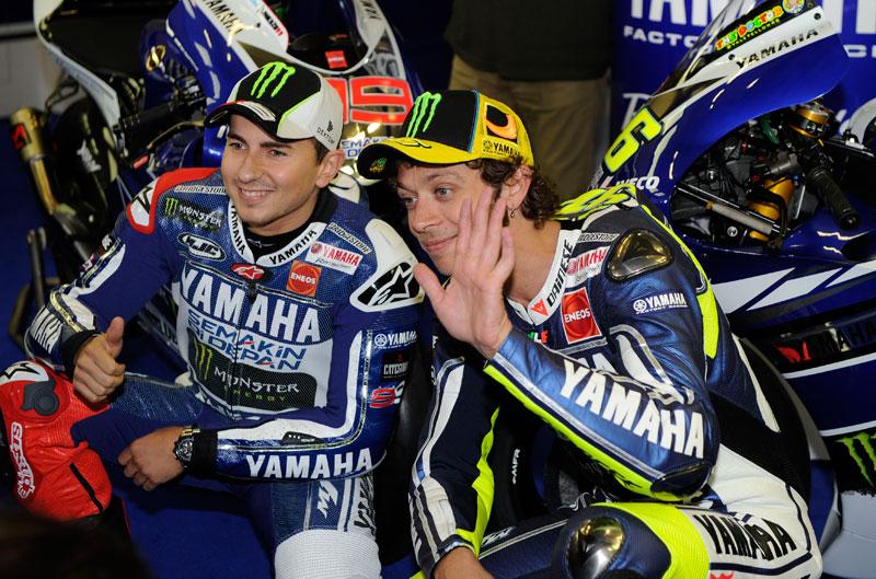 Lorenzo y Rossi vuelven a ser amigos
