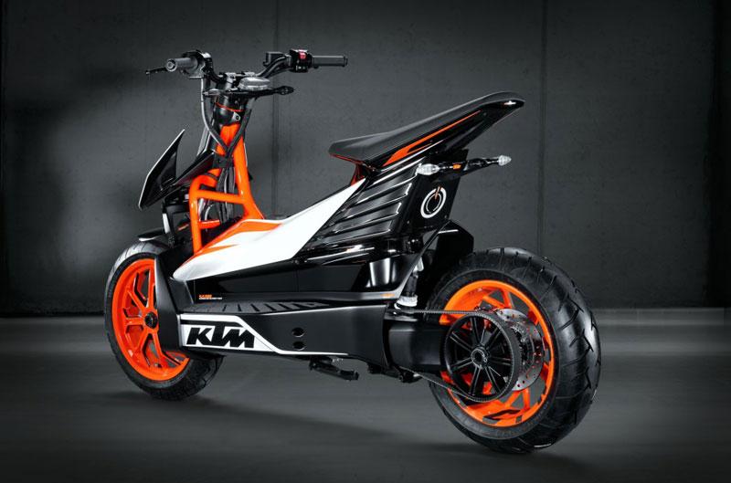 KTM lanzará su scooter eléctrico E-SPEED en 2015