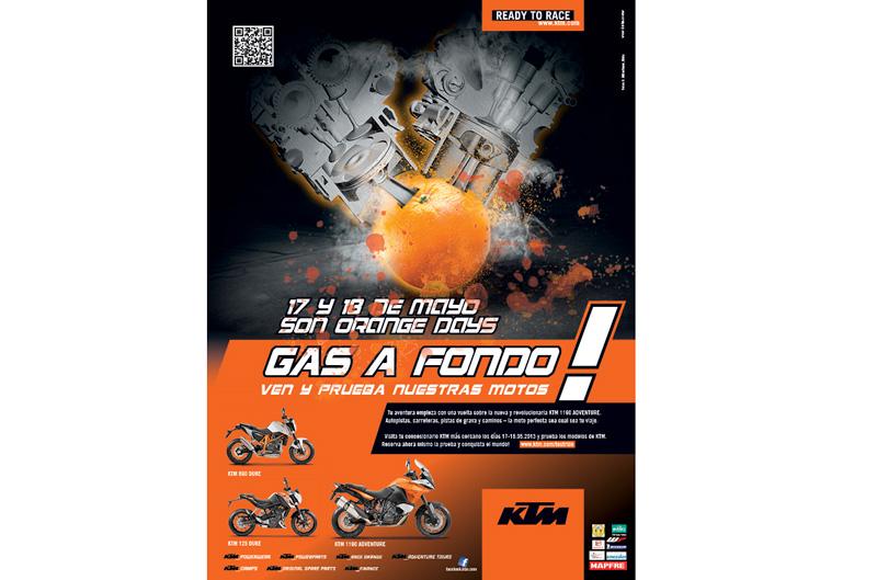 Vuelven los Orange Days de KTM