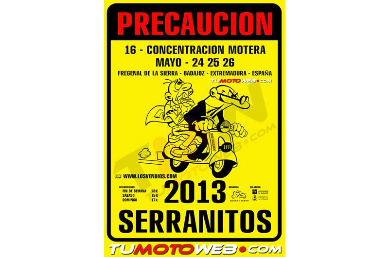 XVI Concentración Motera Serranitos 2013