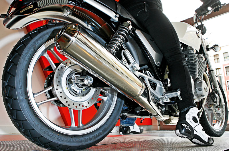 Informe altura de las motos