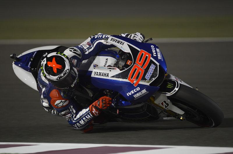 Lorenzo, Rossi, Márquez y Pedrosa tras el primer día en Qatar