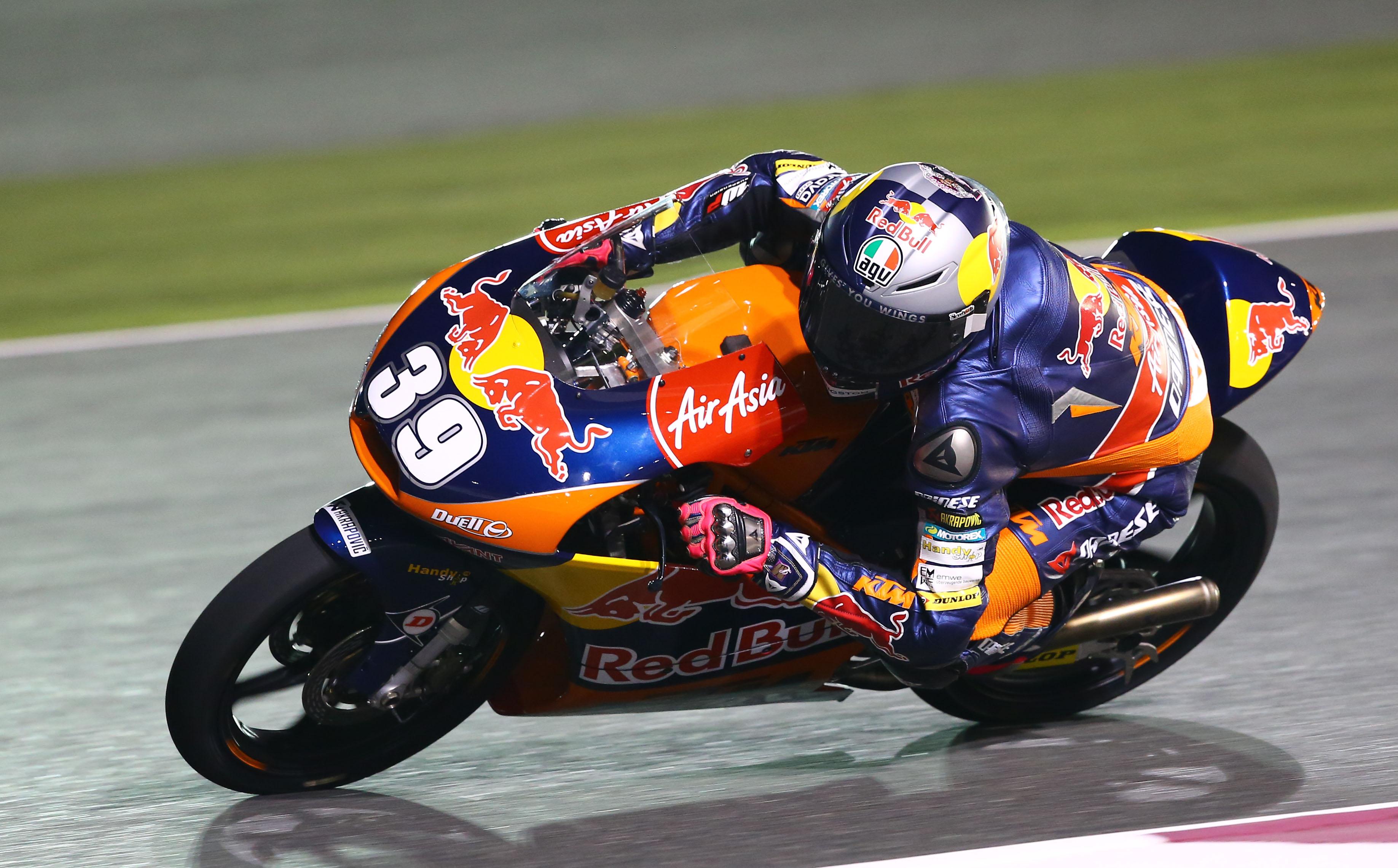 Luis Salom sigue marcando el ritmo en Moto3