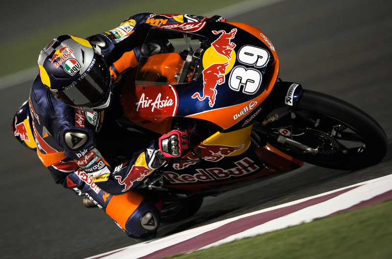 Luis Salom, pole de Moto3 en Qatar