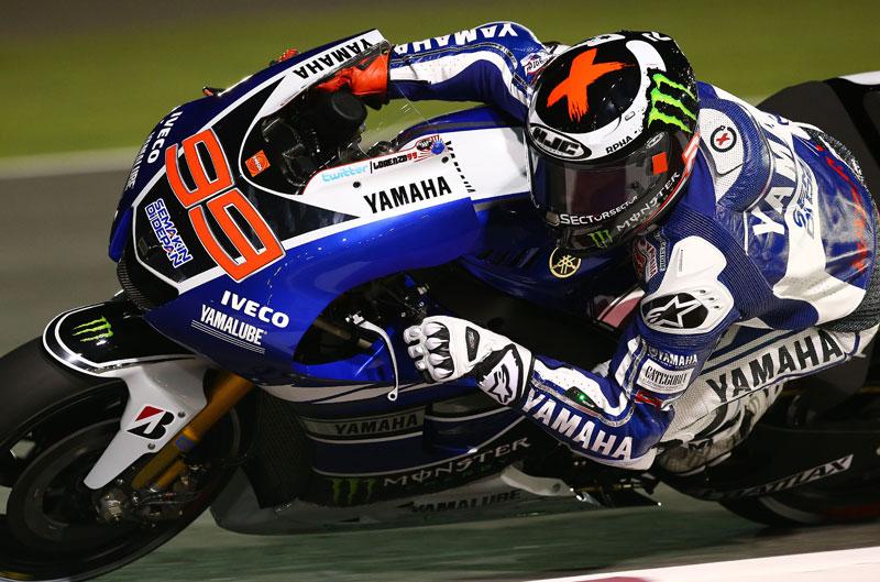 Jorge Lorenzo consigue la pole en el GP de Qatar de MotoGP