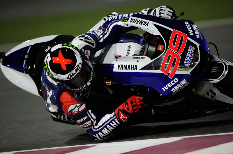 Lorenzo, Pedrosa, Márquez y Rossi tras los entrenamientos cronometrados en Qatar