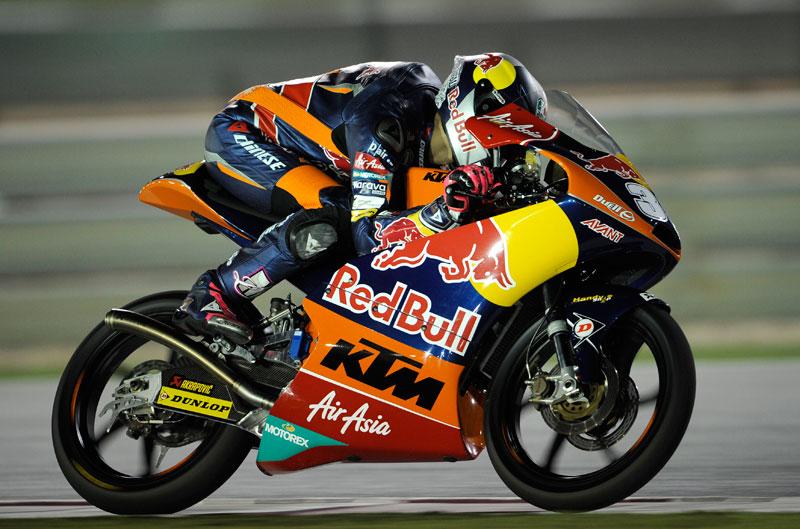 Luis Salom gana en Moto3 en el Gran Premio de Qatar