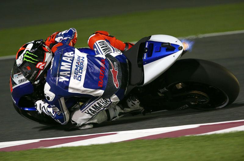 Jorge Lorenzo arrasa en el GP de Qatar
