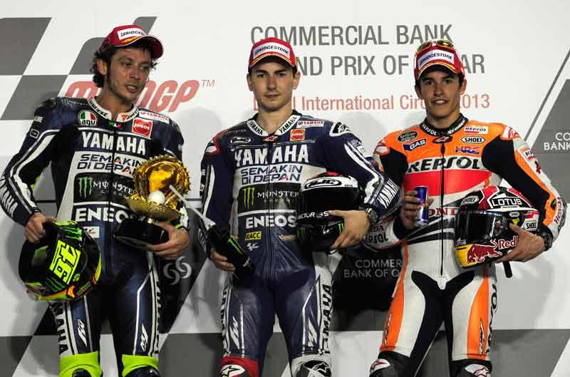 Declaraciones de los pilotos de MotoGP en Qatar