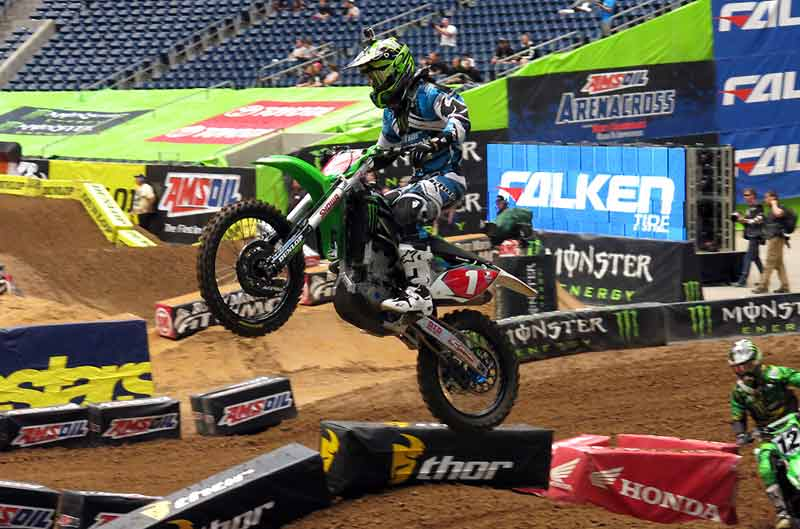 Ryan Villopoto suma y sigue en el SX de Houston