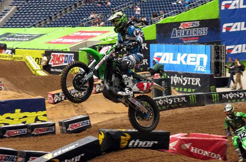 Ryan Villopoto suma y sigue en el SX de Houston