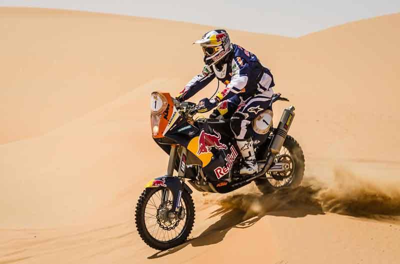 Marc Coma, segundo en el Abu Dhabi Desert Challenge