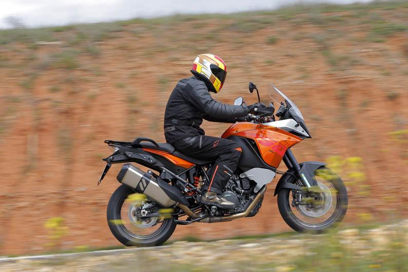 KTM 1190 Adventure. Prueba