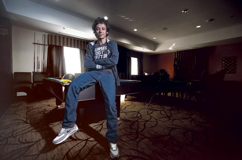 Valentino Rossi: Corro por pasión