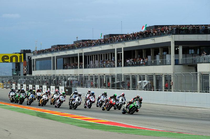El Mundial de SBK aterriza en MotorLand Aragón