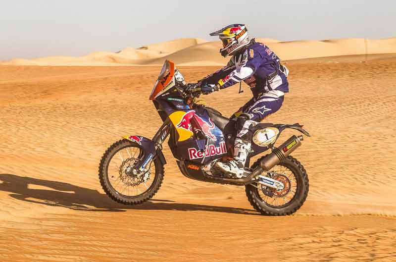 Marc Coma, segundo en la cuarta jornada de Abu Dhabi