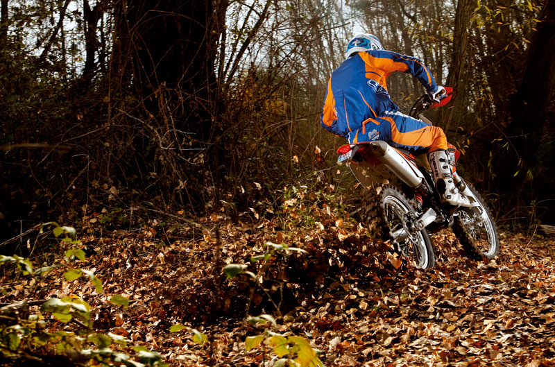 KTM 350 EXC. Prueba Moto Verde