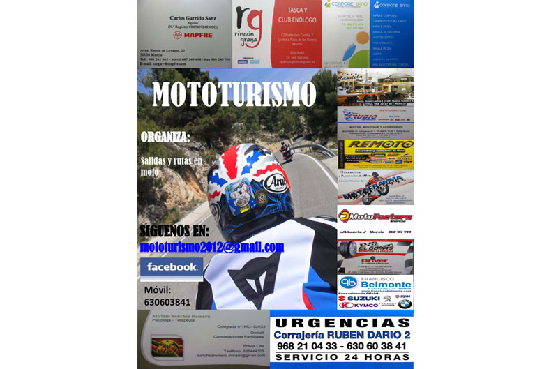 I Salida a Cazorla Mototurismo 2012