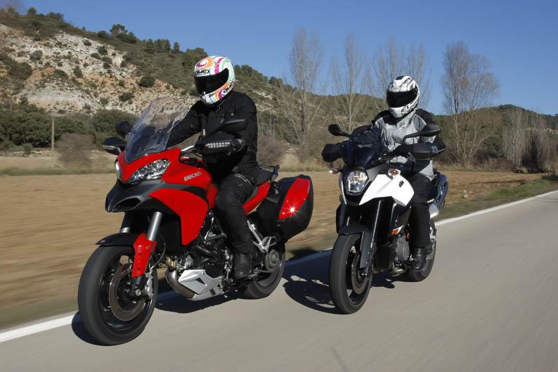 Comparativa: Ducati Multistrada 1200 S Touring vs KTM 990 SMT