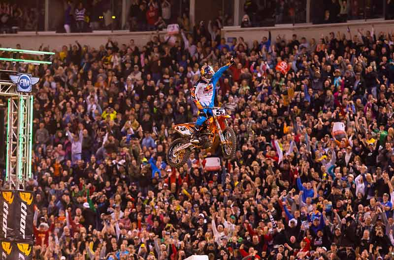 Gran victoria de Ryan Dungey en el SX de Minneapolis