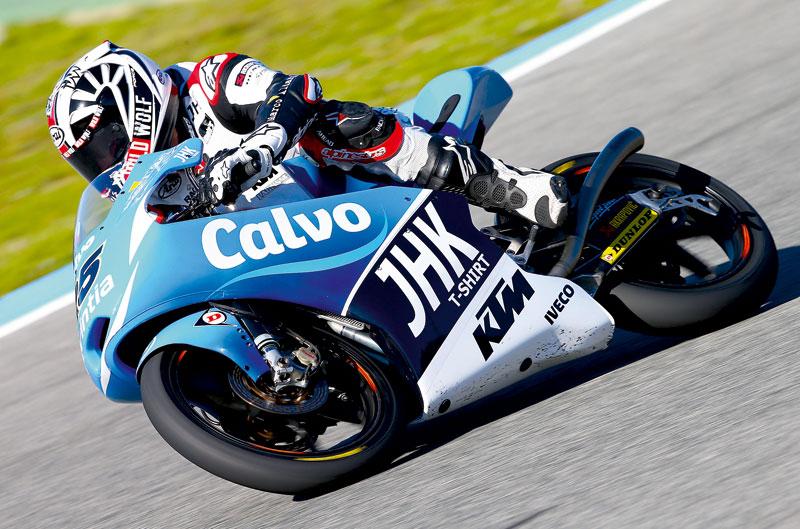 Maverick Viñales, el más rápido en los primeros entrenamientos de Moto3 del GP de las Américas