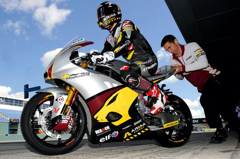 Scott Redding consigue el mejor tiempo en Moto2 el primer día en Austin