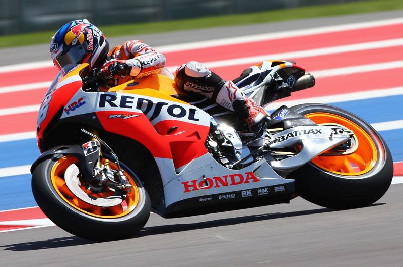 Mejor tiempo para Dani Pedrosa en el FP3 en Texas