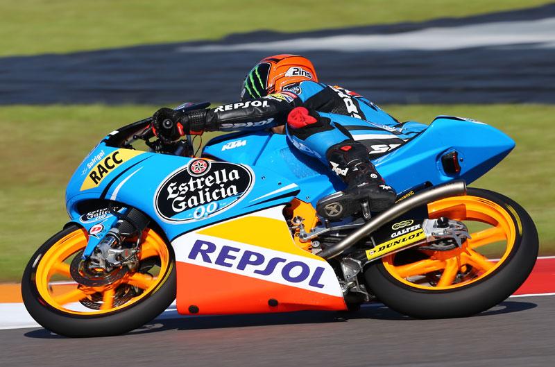 Alex Rins gana la carrera de Moto3 en Austin