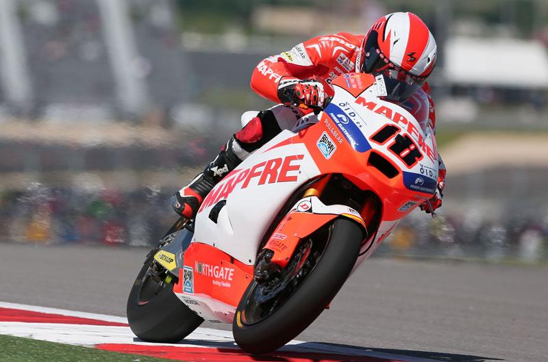 Victoria de Nico Terol en Moto2 en Texas