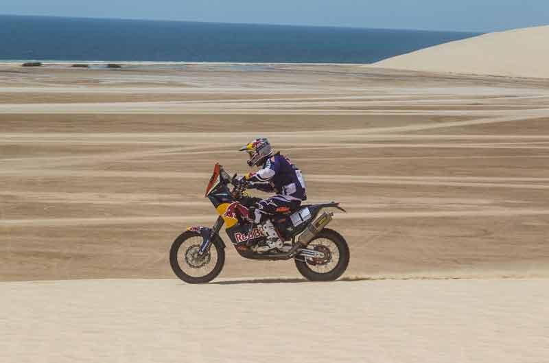 Marc Coma, victorioso en la primera etapa del Rally de Qatar